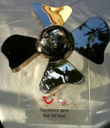 Best TUI Hotel 2016 worldwide